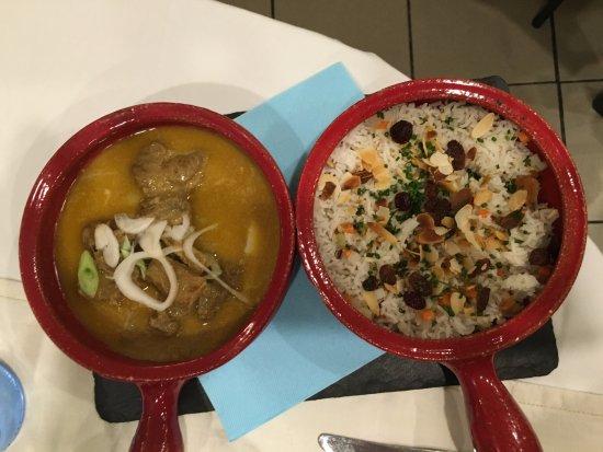 Pamiers, Frankrike: Agneau au curry