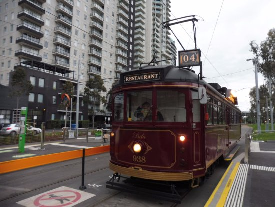 South Melbourne, Australia: Start of the Tramcar Restaurant in Melbourne