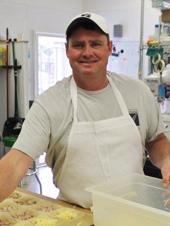 Windsor, Kalifornien: Warren Burton, your Kiwi Baker