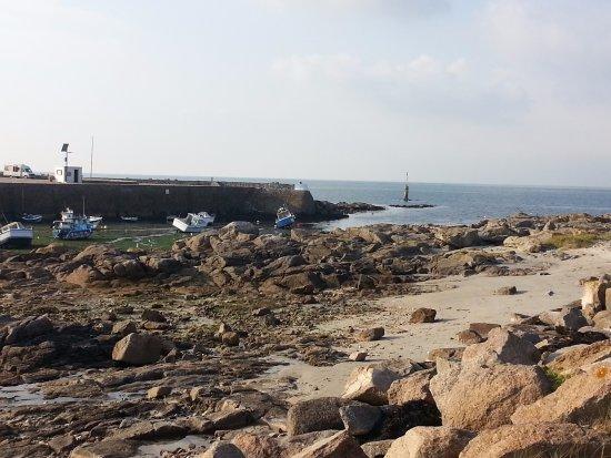Gatteville-le-Phare, Francia: le port avant le phare