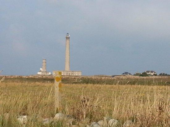 Gatteville-le-Phare, Francia: le phare vue de la terre