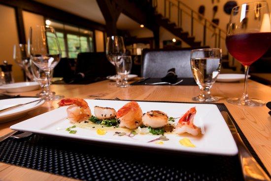 Bella Coola, Kanada: Delicious local seafood