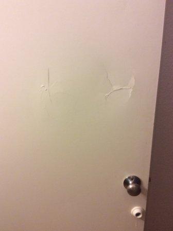 Pinole, CA: Bathroom door