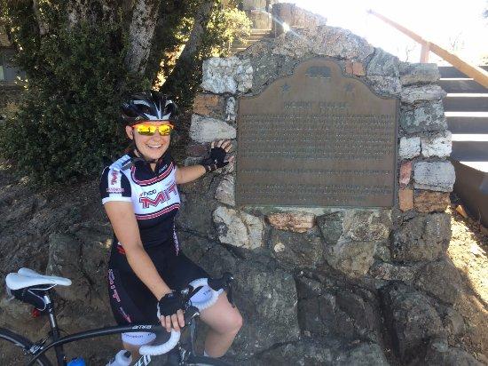 Clayton, Kalifornien: Plaque at the top of Mt Diablo