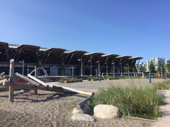 Richmond Olympic Oval waterfront park