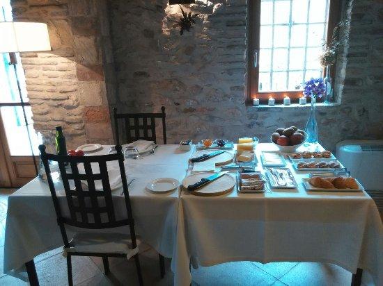 Els Guiamets, Spain: Desayuno (impresionante!)