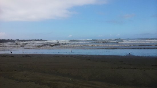Ocean Shores, WA: power of the sea