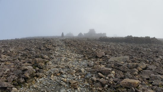 Ben Nevis: Misty summit
