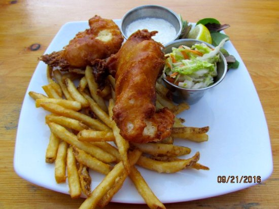 Bridgewater Corners, VT: Fish & chips