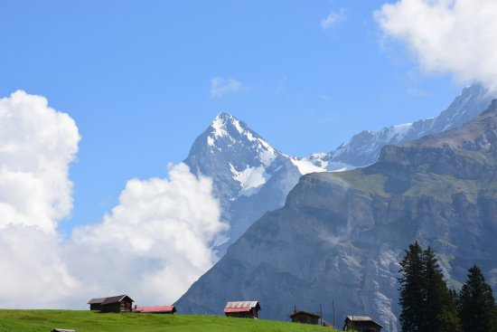 Hotel Eiger: Picture of Eiger from a nearby hike.