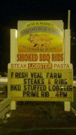 Marconi Beach Restaurant: 20160917_205455_large.jpg