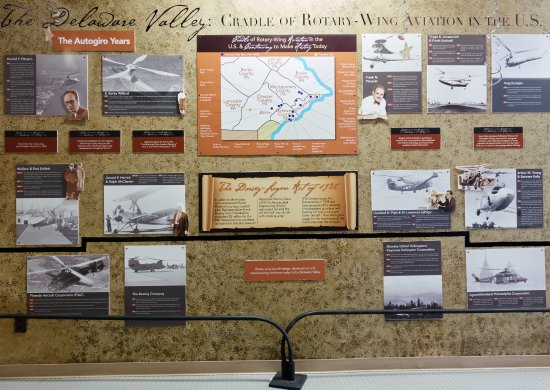 West Chester, Pensylwania: Cradle of Rotary Wing Aviation Exhibit