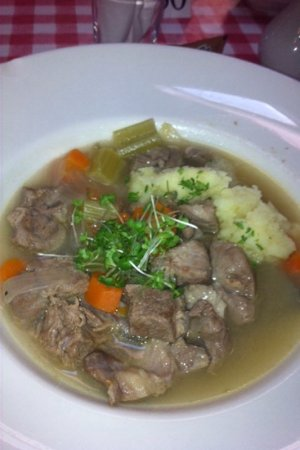 Clonbur, Irlanda: irish stew