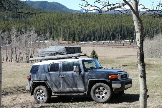 Bragg Creek, كندا: Mclean Creek Provincial Recreation Area