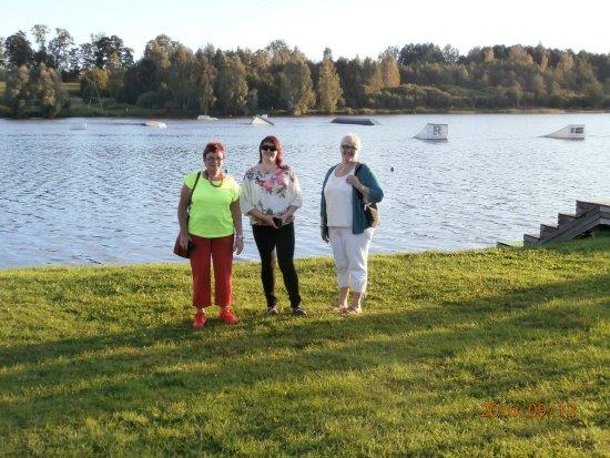 Rubene, Lettland: flotte aktivetetsområder lige til en hyglig gå tur