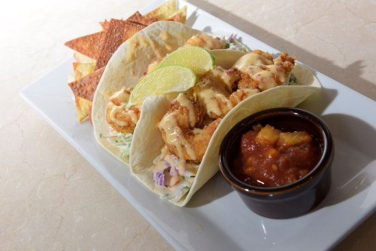 Bellville, OH: Crispy Shrimp Tacos Special