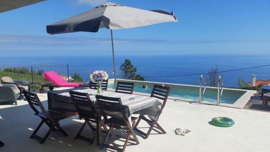 Estreito da Calheta, Portugal: Quite moment on the terrace