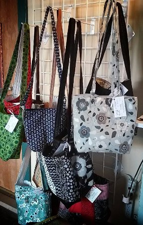 Prairie du Chien, WI: Hand crafted purses, bags and totes available at The Planted Tree.