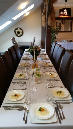 Trzebinia, Polonia: sala na przyjęcia