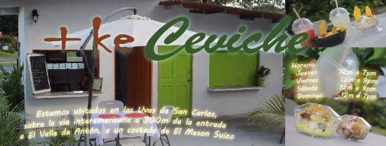 San Carlos, Panamá: Nuestro menu es ideal para llevar y disfrutar en el camino.