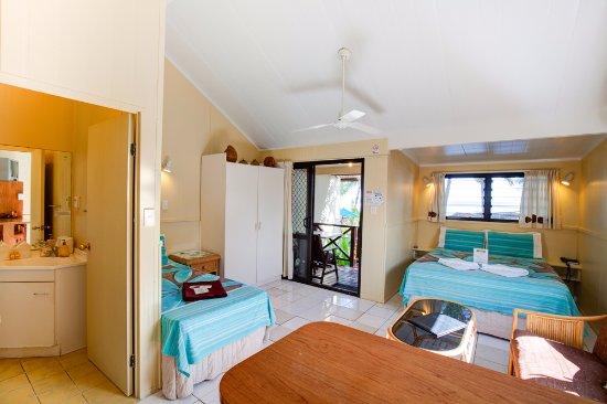 Castaway Resort: Beachfront Studio interior view