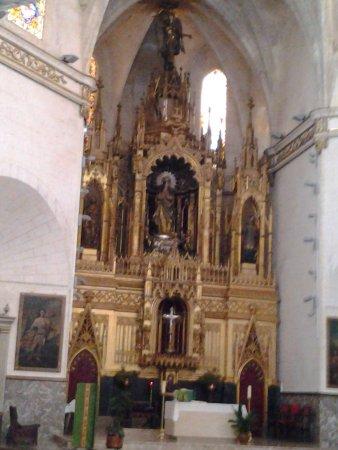 altar iglesia de Felanitx