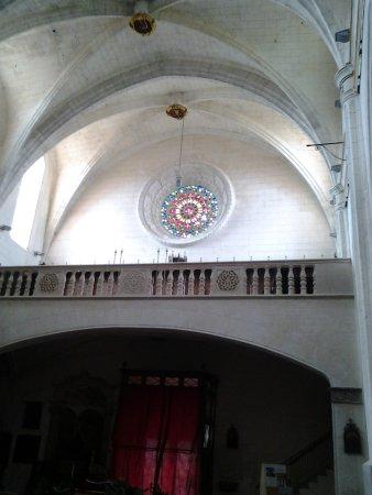 Interior iglesia de Felanitx