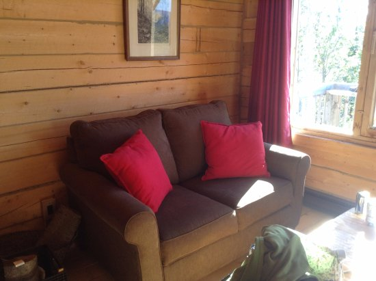 Sainte-Rose-du-Nord, Canadá: Sofa