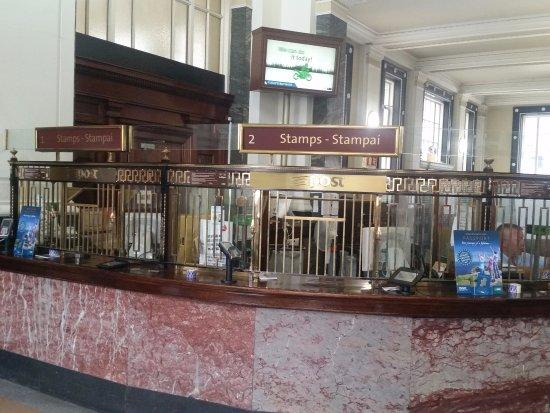General Post Office (GPO): Parte de remessas