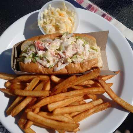 Pocologan, Kanada: Grilled lobster roll!