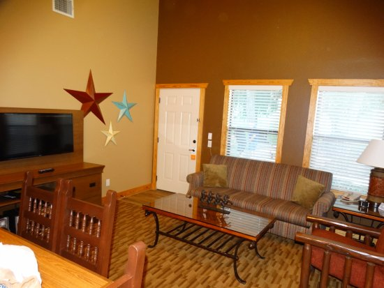 WorldMark New Braunfels: living room