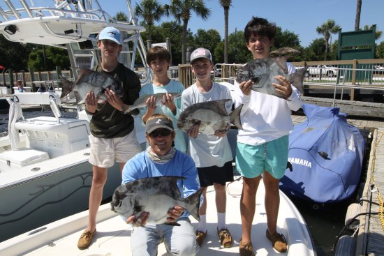 Isle of Palms, SC: Forget parents! Spade fish at the reef!