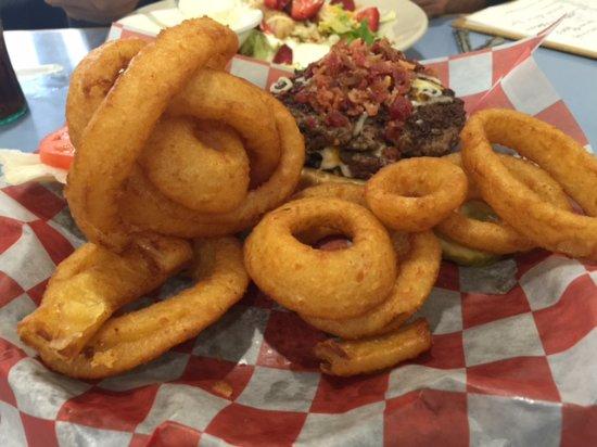 Wickenburg, AZ: onion fries with my order
