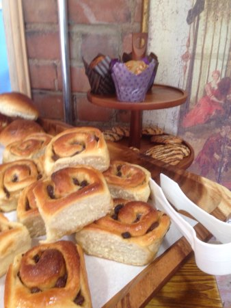 Colwall, UK: Thursday is Chelsea bun day