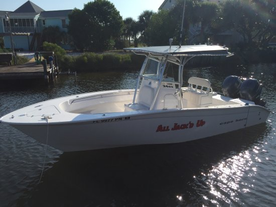 Perdido Key, FL: The new boat for All Jack'd Up Charters