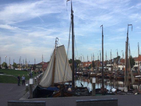 't Boothuis: Blick auf den Hafen