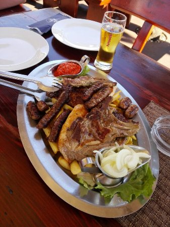 Njivice, Croacia: Meat plate for 2 ;)