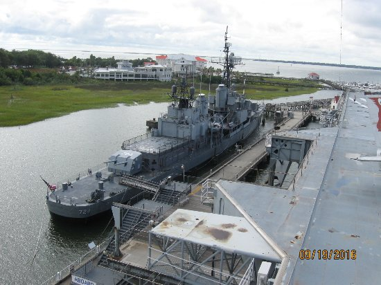 Mount Pleasant, Южная Каролина: USS Laffey Destroyer