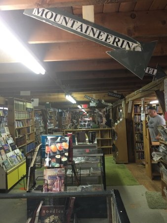 Ellsworth, ME: An entire 2nd floor dedicated to books of every genre.