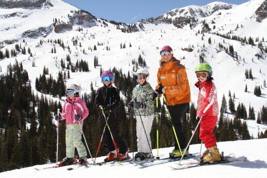 Take a lesson with the Alta Ski School