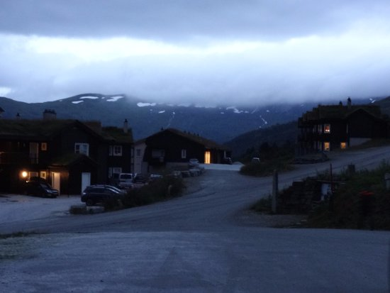 Myrkdalen, Norway: Nos arredores do Vossestrand Hotel