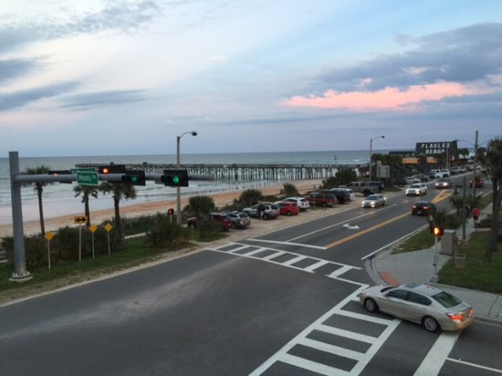 Flagler Beach, ฟลอริด้า: View from rooftop restaurant