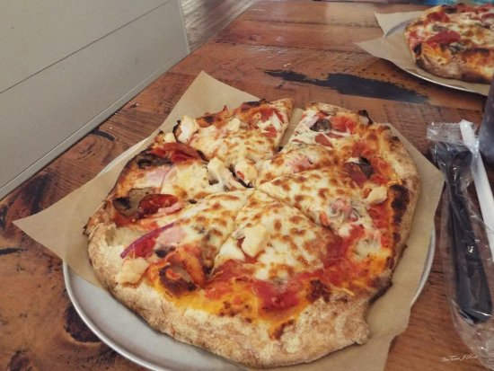 Covington, Georgien: Pizza made just like you want it