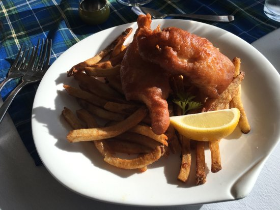Sheet Harbour, Канада: Fish and Chips