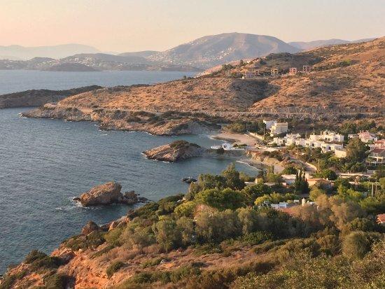 Maratón, Grecia: Lac de Vouliagmeni, cap Sounion