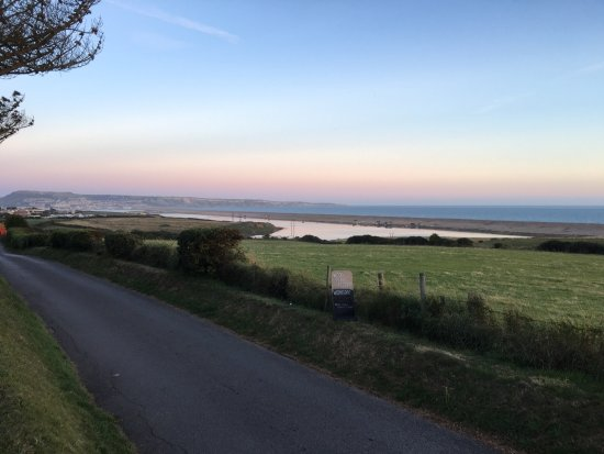 the camping field picture of pebble bank caravan park weymouth