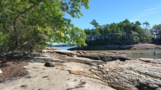 Freeport, ME: Views of the Osprey Island in Casco Bay