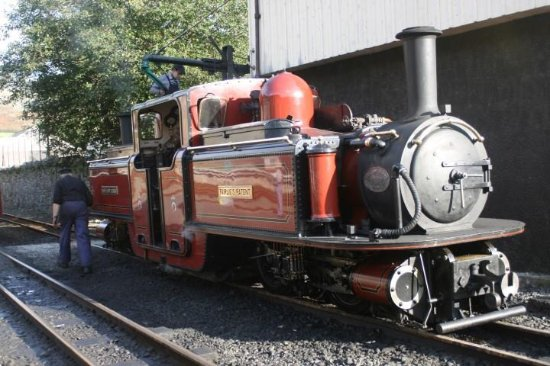 Porthmadog, UK: One of the Fairlies on the Ffestiniog