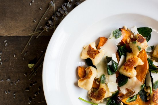 Cardrona Hotel: Housemade gnocchi from the restaurant