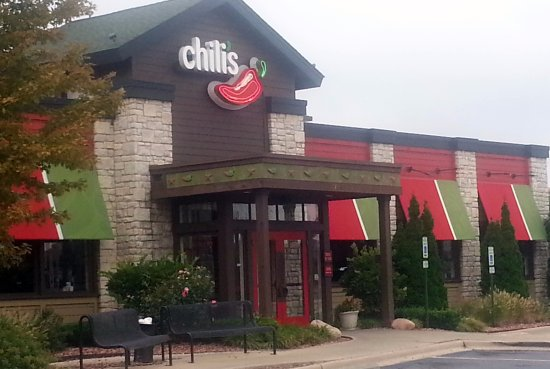 Rosemont, IL: Entrance to Chili's